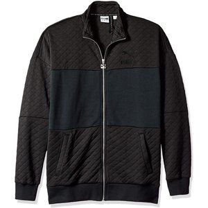 [576383-01] Mens Puma Retro Quilted Jacket